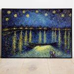 Workshop de Pintura a Óleo - Noite Estrelada de Van Gogh